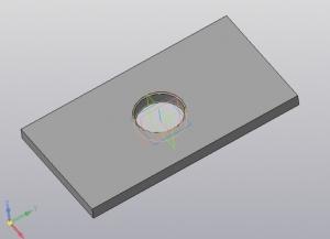 10. 3D-модель плиты