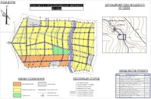 1.Генеральный план водопроводной сети города (формат А1)
