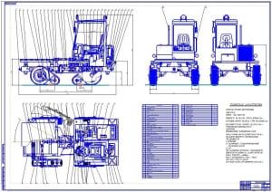 1.Общий вид компоновка универсального малогабаритного энергетического модуля модели УМ-4 (формат А1)