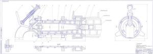 1.Сборочный чертеж сепарирующей головки с техническими требованиями