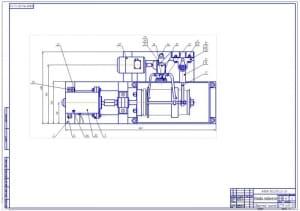 1.Общий вид гальванической установки (формат А1)