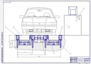 1.Общий вид тормозного стенда (формат А1)