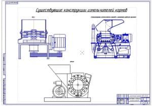 1.Существующие конструкции измельчителей (формат А1)