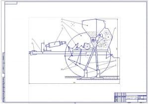 1.Технологическая схема модернизированной сеялки СЗ - 3,6М (формат А1)