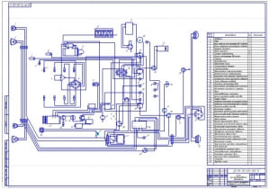 1.Схема электрооборудования автомобиля (формат А1)
