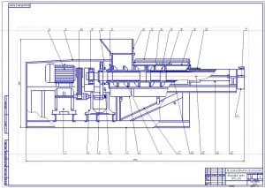 1.Общий вид шнекового пресса ВПО-20А (формат А1). Пресс шнековый ВПО-20А относится к прессам средней мощности и предназначен для отжима сока из ягод винограда