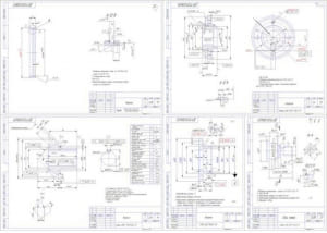 1.Рабочие чертежи деталей А1