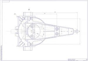12.Сборочный чертеж рамы тяговой L2 (формат А1)