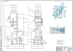 1.Общий вид вертикально-сверлильного станка модели 2Н125КП (на формате А1)