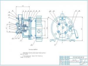 1.Общий вид шестеренного насоса НРМ-2 для кисломолочных продуктов