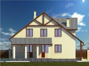 12.3-D модель дома с внутренней стороны