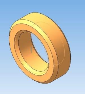 13.Специальная гайка в 3D-моделировании