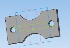 13.3D-модель пластины