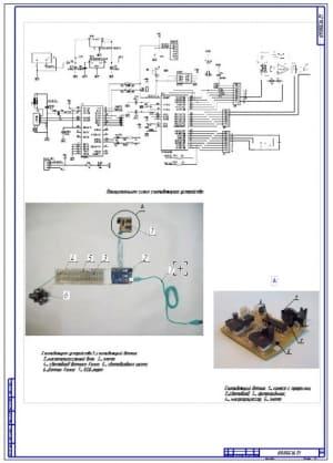 14.Принципиальная схема считывающего устройства (формат А1)