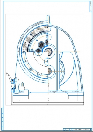 14.Чертеж привода к конвейеру (лист 2) А1
