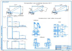 1.Расчетные схемы экскаватора А1