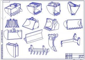 Чертежи навесного подъемно-транспортного оборудования