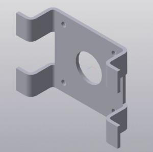 3D-модель кронштейна