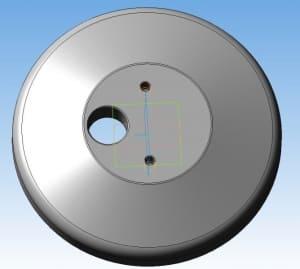 16.3D-моделирование детали крышка
