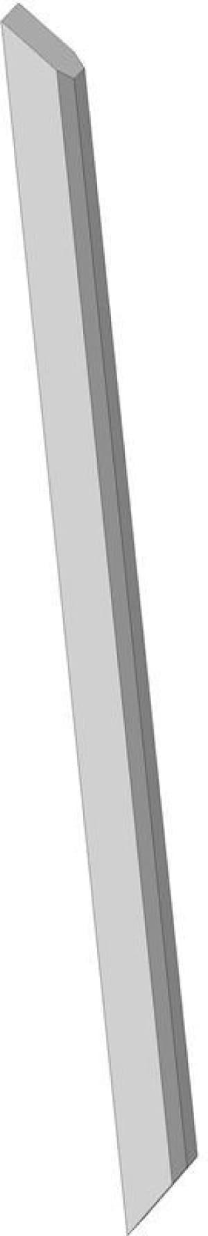 1.Чертеж детали стойка автомобиля грузового ЗИЛ-433440 в 3D формате