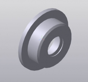 3D-модель крышки подшипника