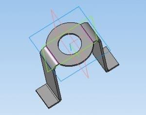 18.Скоба деталь в 3D