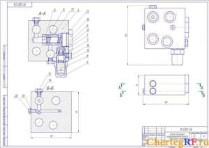 1. сборочный плиты гидротолкателя (формат А2)