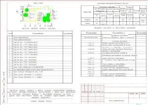 1.Чертеж общих данных (начало): план-схема