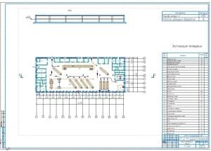 2.План производственного ремонтного корпуса А1