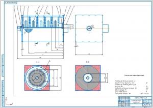 2.Сборочный чертеж плазмореактор-глушитель (А1)