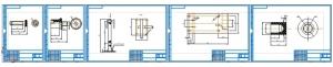 2.Рабочие чертежи деталей приспособления: упор А4, стойка А3, плита А3