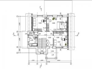 2.План второго этажа