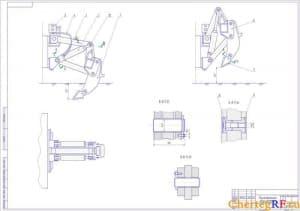 Общий вид рыхлительного оборудования