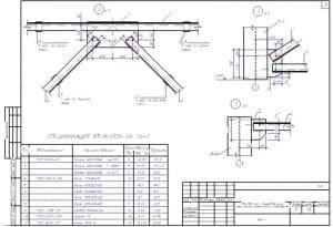 22.Чертеж СВ-2 с указанными размерами и со спецификацией элементов (формат А3)