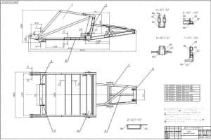 2.Сборочный чертеж ковша с техническими требованиями