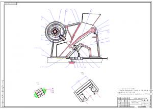2.Сборочный чертеж дробилки: сварное соединение II класса по СТБ