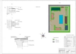 2.Чертеж узлов, ситуационного плана, генплана и экспликации зданий и сооружений ремонтной мастерской