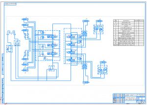 2.Гидравлическая схема А1