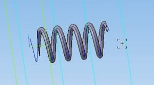 24,25,26. 3D-модель пружины