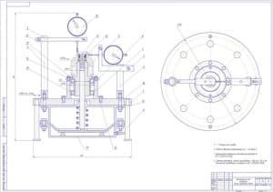 2.Сборочный приспособления контрольного назначения для контроля вилок карданных валов