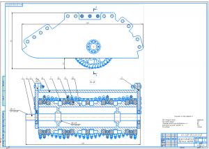 2.Сборочный чертеж фрезерного оборудования А1