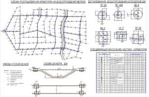2.Расположение арматуры на водопроводной сети (формат А1)