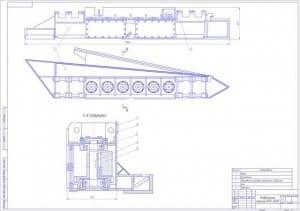 2.СБ виброплиты машины (формат А1) с перечислением сборочных узлов: корпус