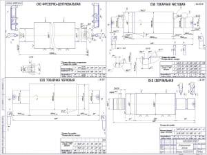 2.Заготовки. Описаны технические характеристики заготовки