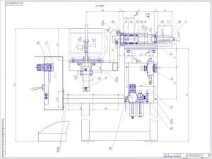 СБ кантователя в масштабе 1:2 (формат А1) Лист 2