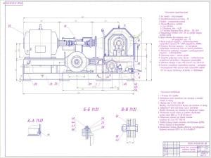 2.Общий вид (2 лист) стенда (формат А1)