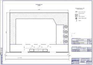 2.Генплан автосервиса – после реконструкции с реализацией предложенных рекомендаций (формат А1)