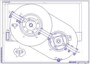 2.Сборочный чертеж раздаточной коробки – 2 лист (формат А1)