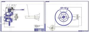2.Сборочный чертеж переднего моста (формат 2хА1)