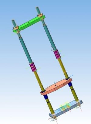 28.3D моделирование пресса конструкции